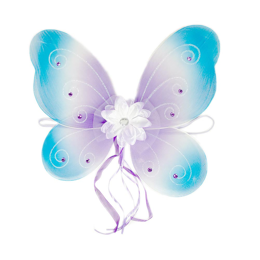 Blue and Purple Jeweled Wings
