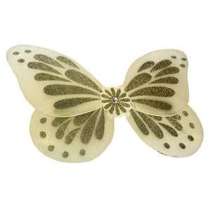 White Glitter Butterfly Wings