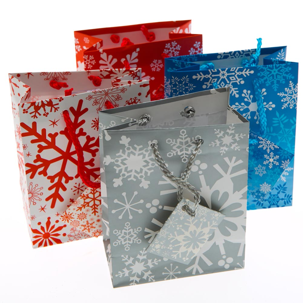Small Winter Snowflakes Gift Bags