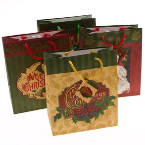 Medium Christmas Classics Gift Bags