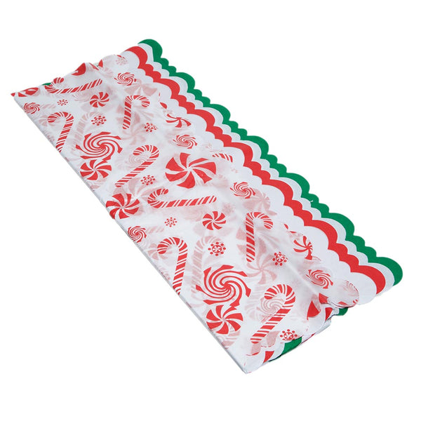 Holiday Scalloped Tissue Paper Variety Pack