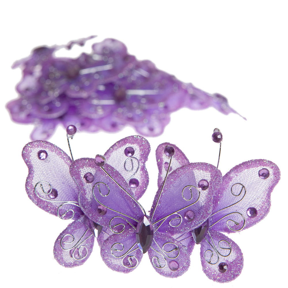 Light Purple Butterflies