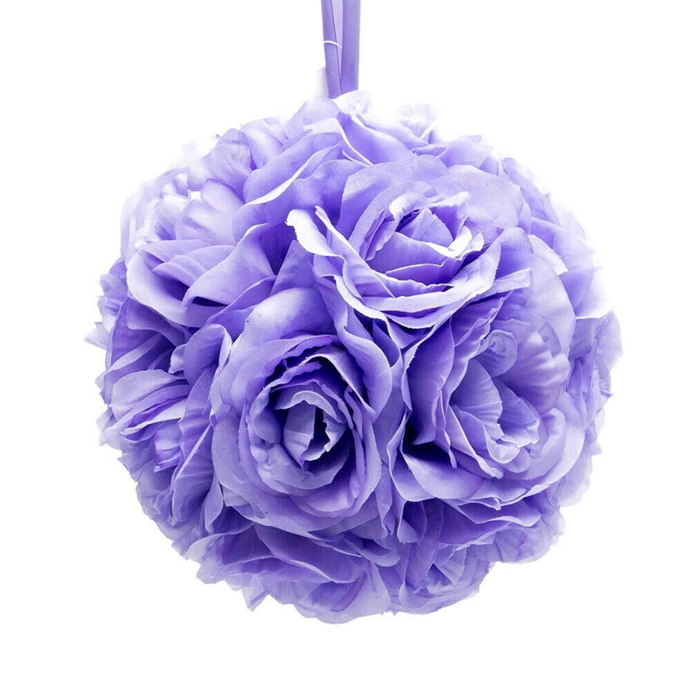 "10"" Lavender Flower Pomander Kissing Ball"