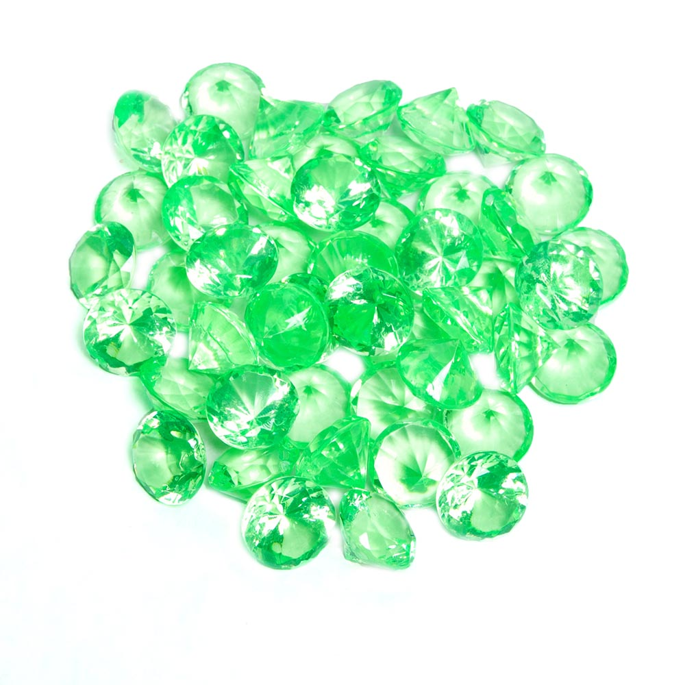 Green Pirate Mini Gems