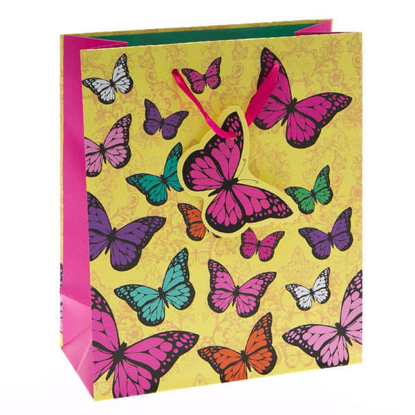 Medium Colorful Butterfly Gift Bags