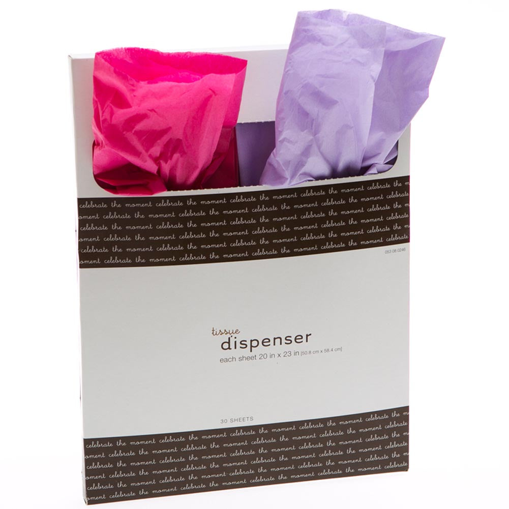 Hot Pink and Lavender Tissue Paper Pack