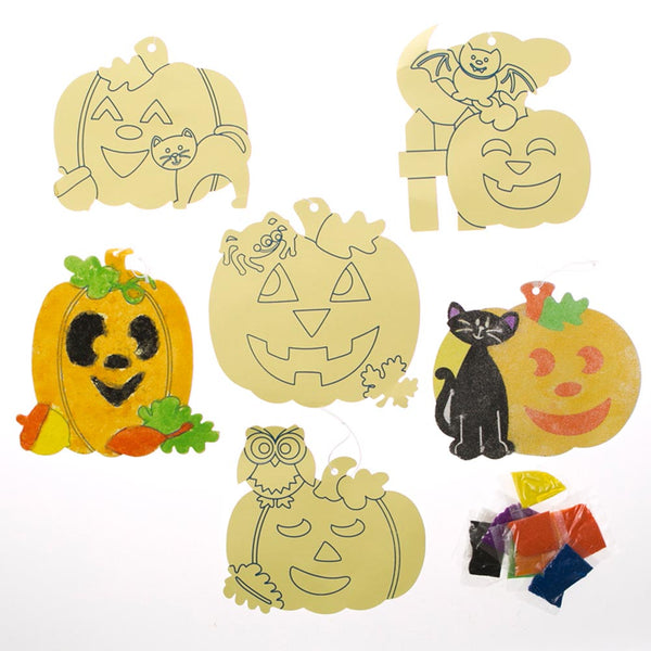 Halloween Sand Art Projects