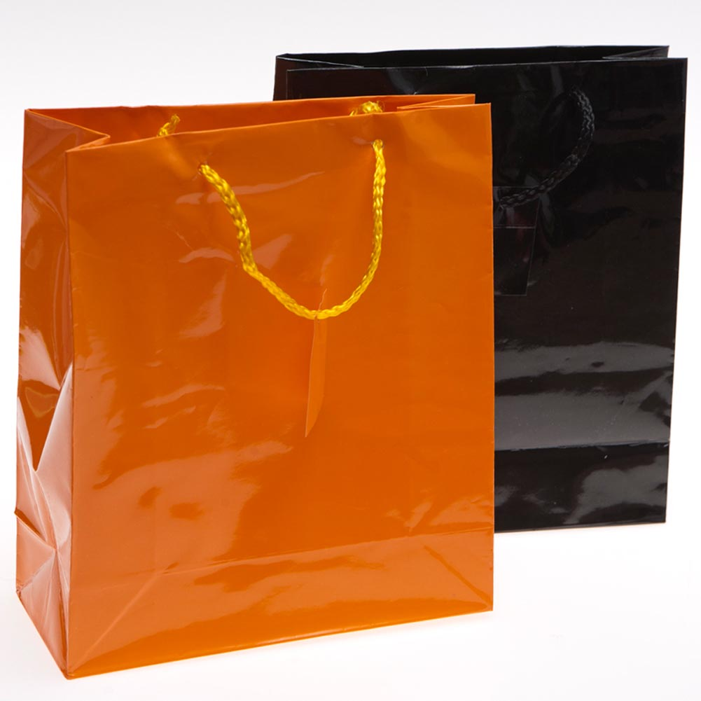 Orange and Black Gift Bags