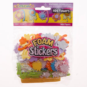 Foam Flower Sticker Set