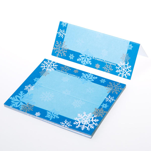 Snowflake Place Cards