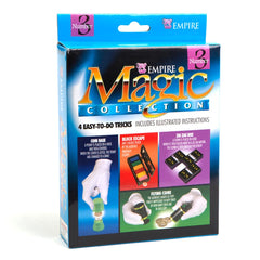 Block Escape, Flying Coins & More Magic Tricks Kit