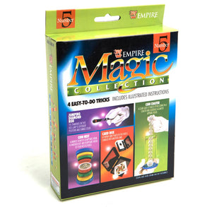 Coin Nest, Card Box & More Magic Tricks Kit