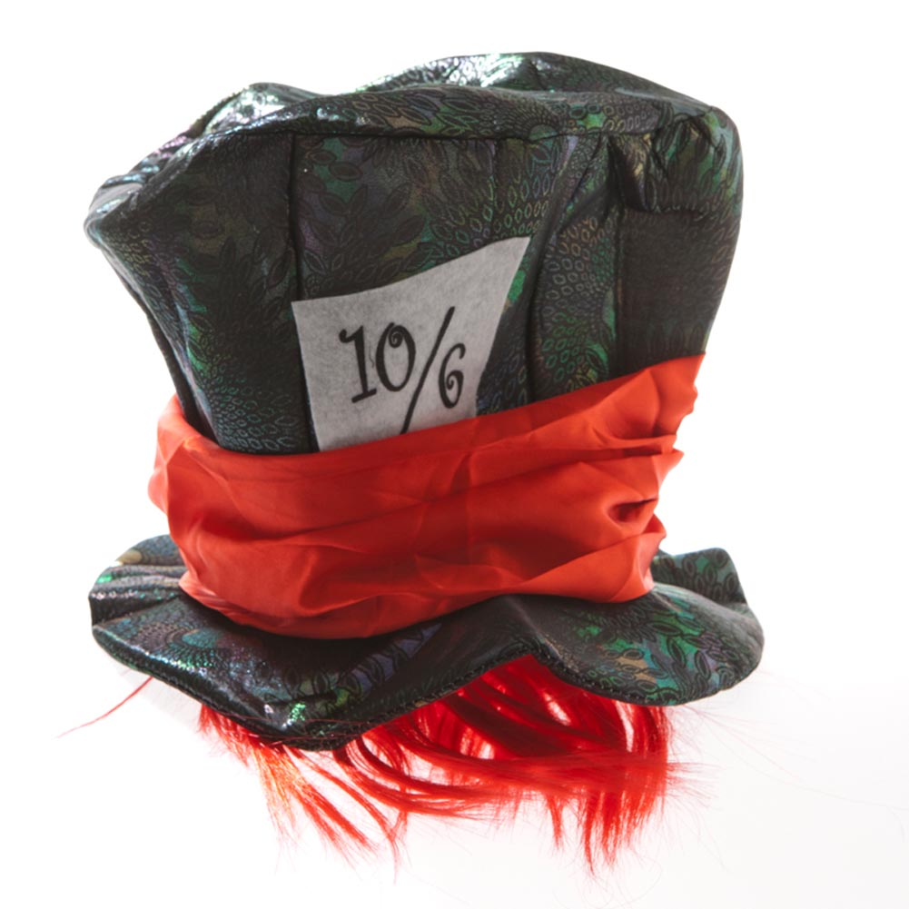 Mad Hatter Metallic Hat