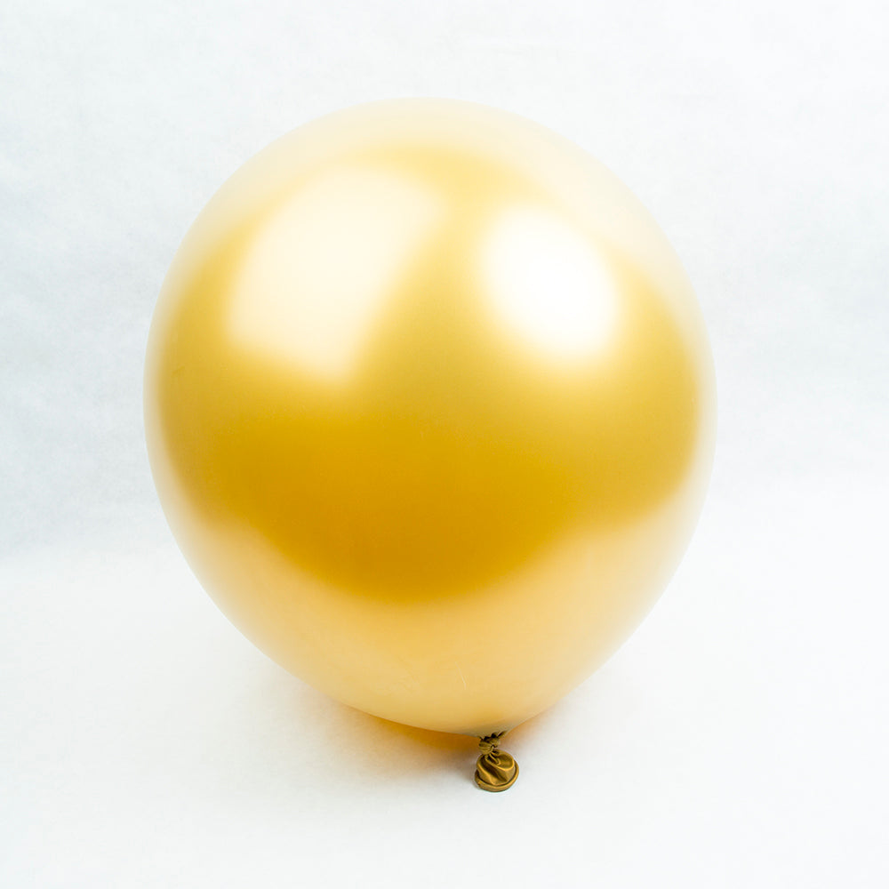 Gold Round Balloons - 24""