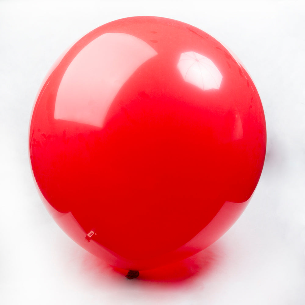 Red Round Balloons - 36""