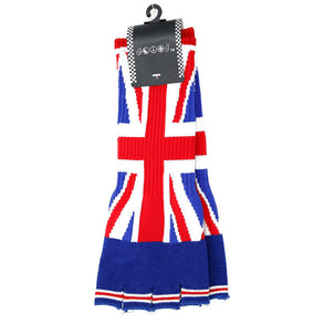Long Union Jack Fingerless Gloves