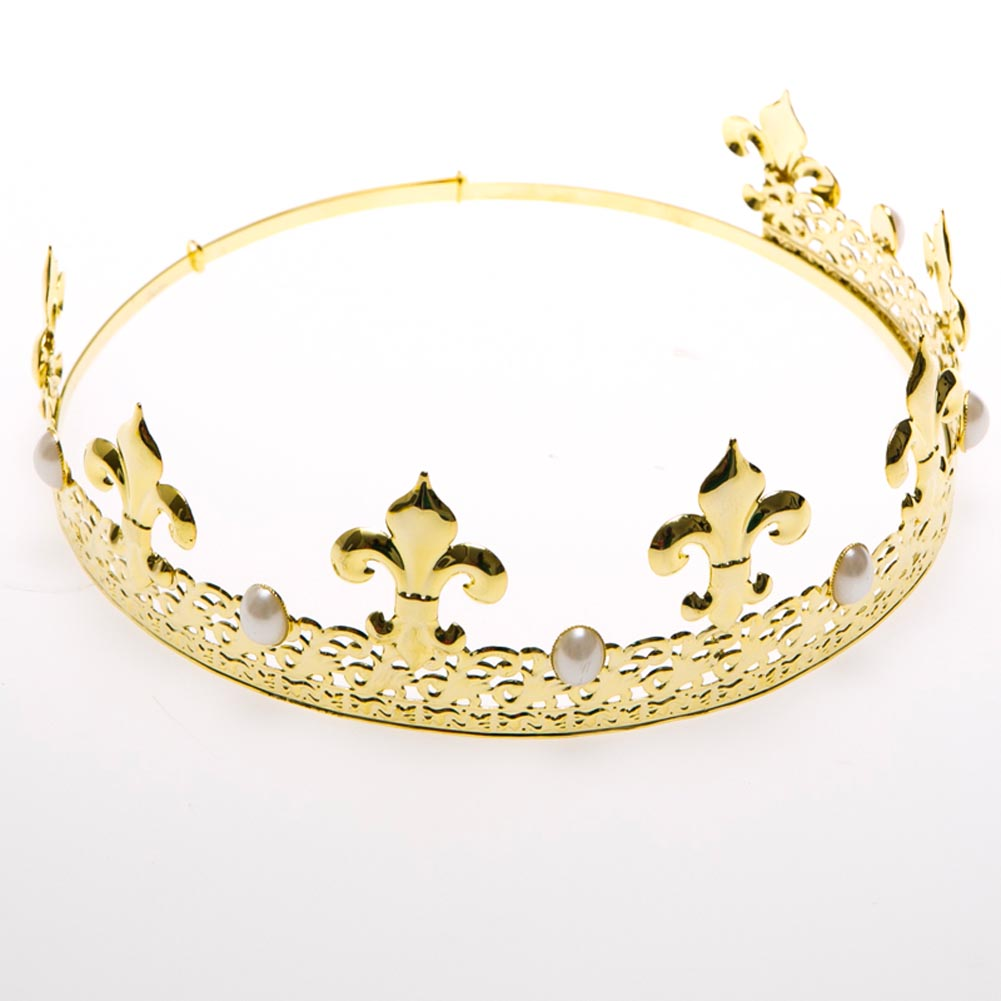 Gold & Pearl Crown
