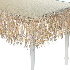 Natural Raffia Fringe Decoration