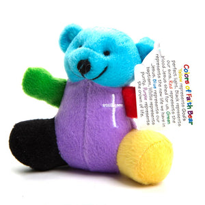 Rainbow Faith Plush Bears