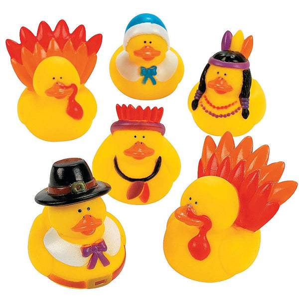 Thanksgiving Rubber Duckys