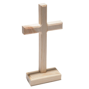 Unfinished Wooden Crosses