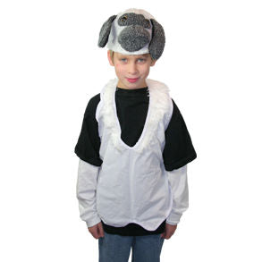 Lamb Hat & Vest Costume
