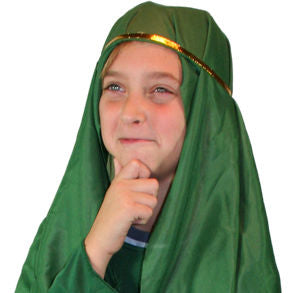 Child Green Nativity Hat