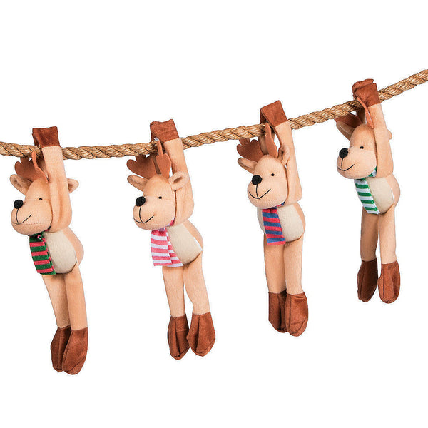 Plush Long Armed Reindeer