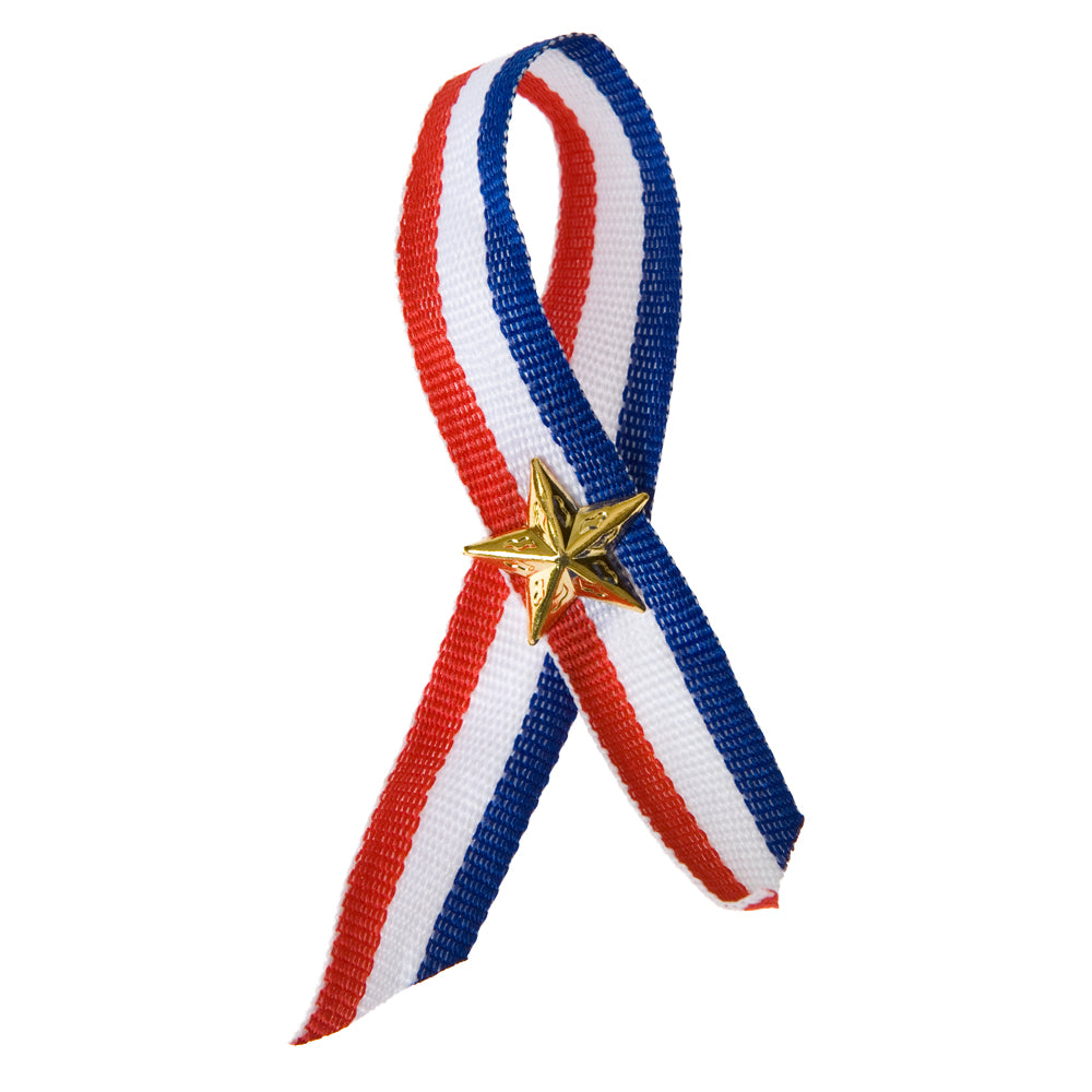 Patriotic Ribbon Pins