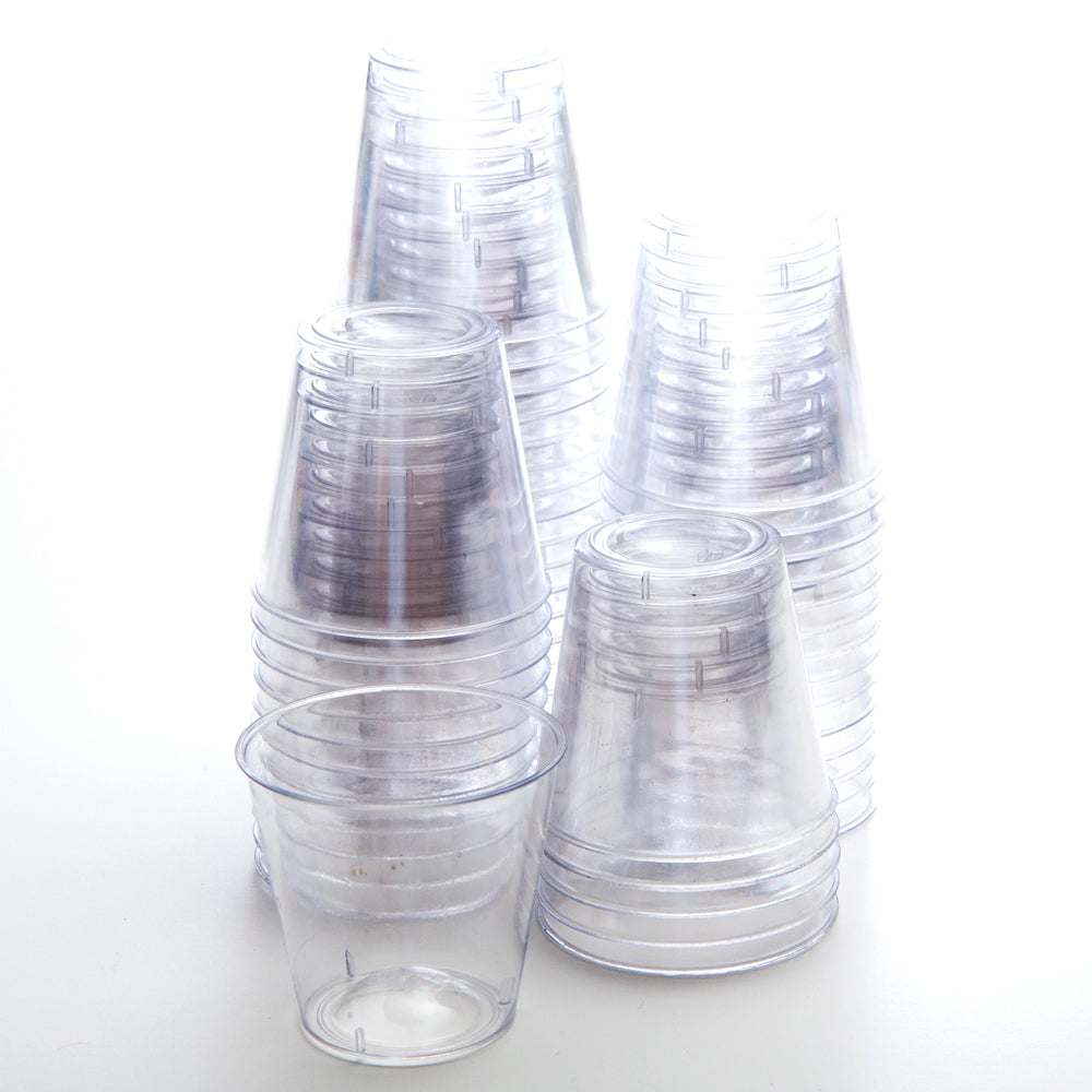 1 oz. Plastic Shot Glasses