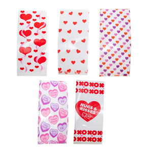 Valentine Cellophane Party Bags