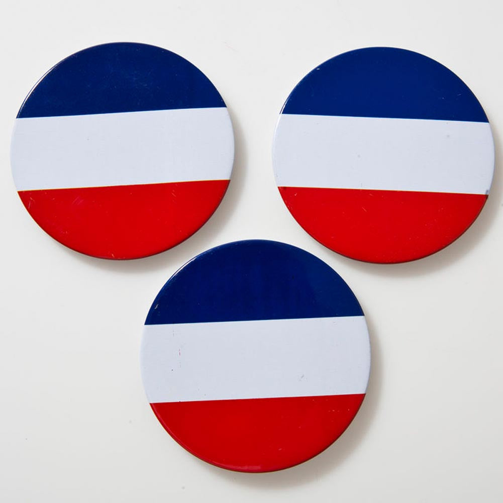 Patriotic Name Buttons