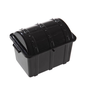 Black Plastic Treasure Chests