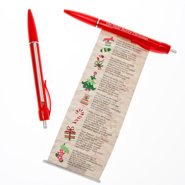 The Night Before Christmas Scroll Pens
