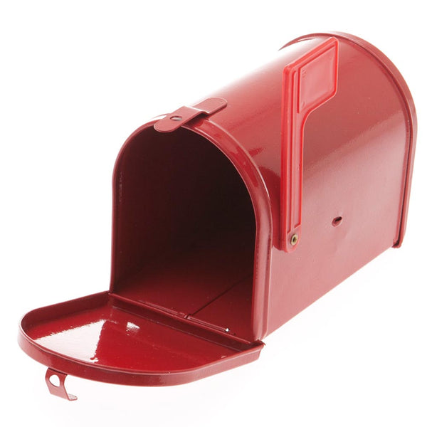 Mini Red Tin Mailbox