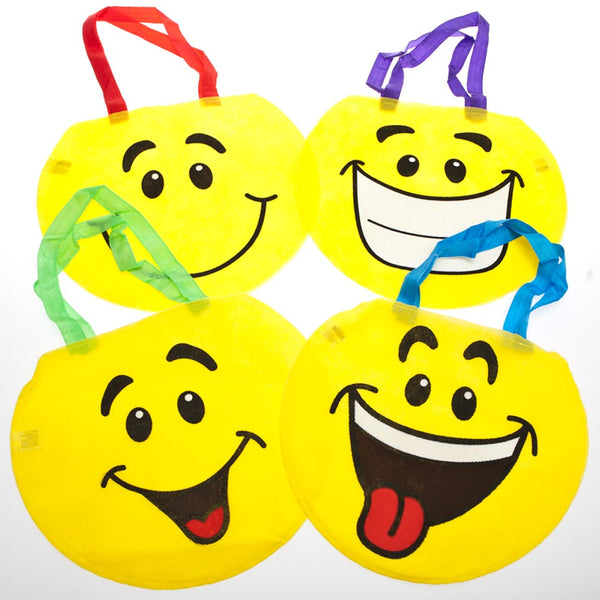 Smiley Face Tote Bags