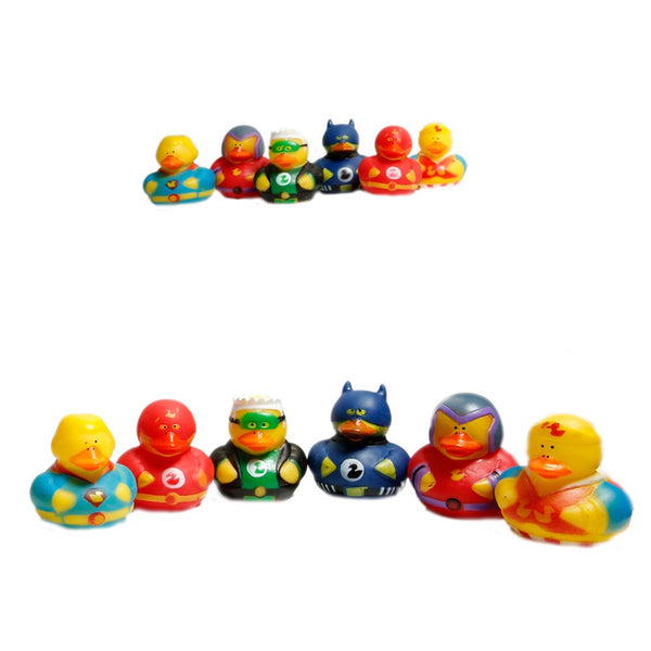 Super Hero Rubber Ducks
