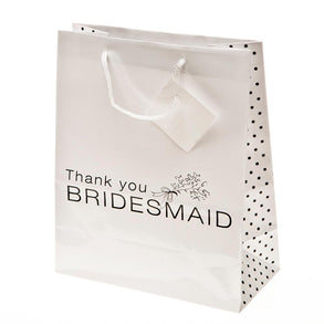 """Thank You Bridesmaid"" Gift Bags"