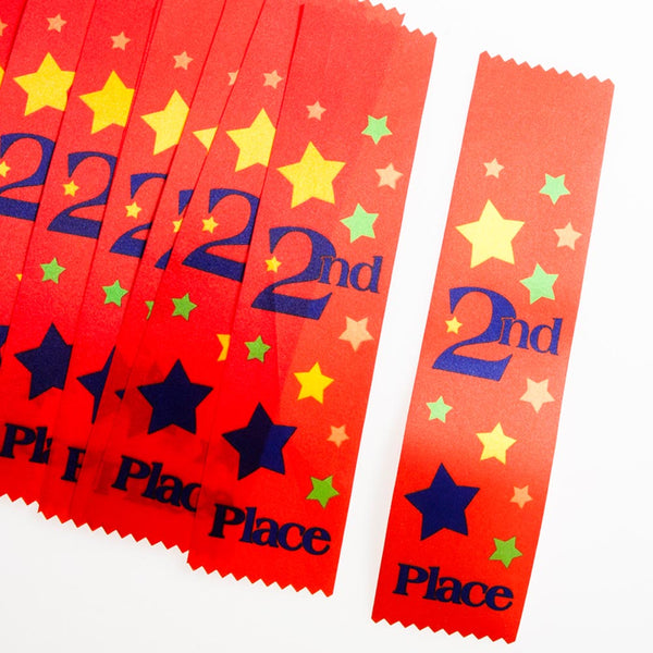 """2nd Place"" Award Ribbons"