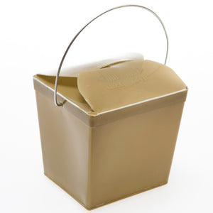 Gold Plastic Take Out Boxes