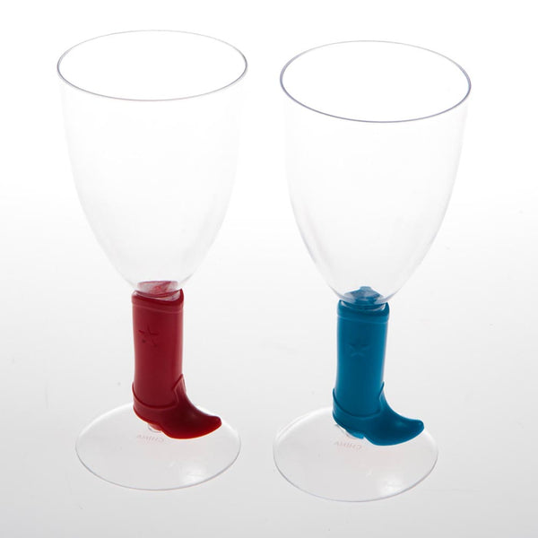Cowboy Boot 8 oz. Wine Glass