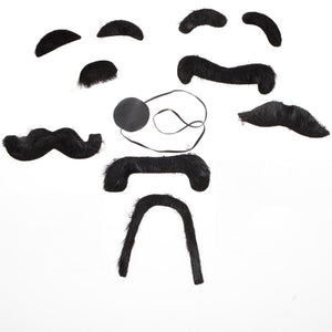 Assorted Black Mustaches