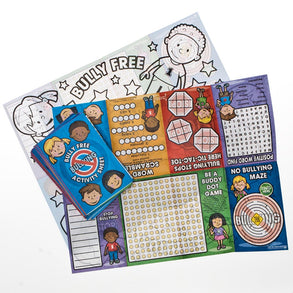 Anti-Bullying Fold Up Activity Books