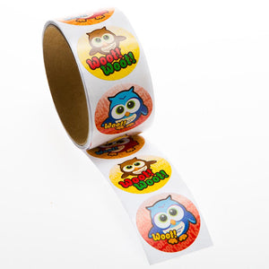 Owl Sticker Roll