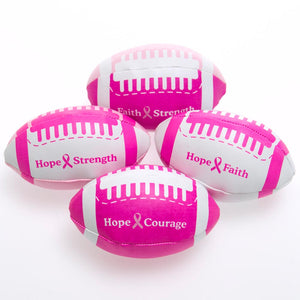 Mini Pink Ribbon Footballs