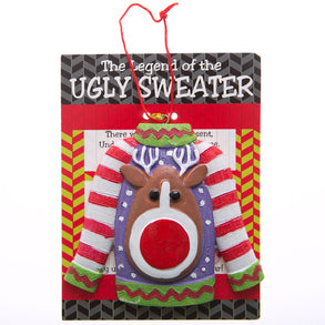 The Legend of the Ugly Sweater Ornaments