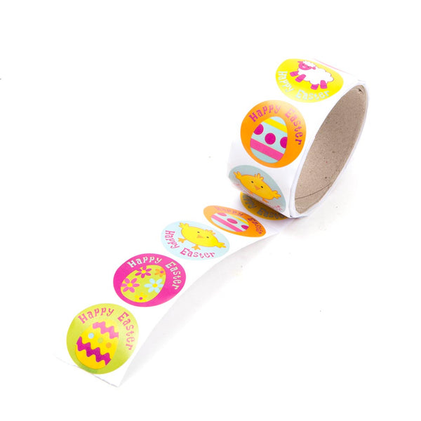 Happy Easter Sticker Roll