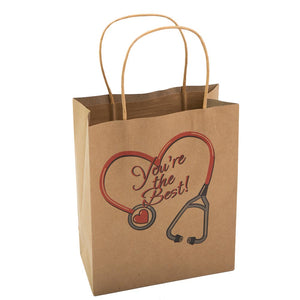 Medium Kraft Nurse Gift Bags