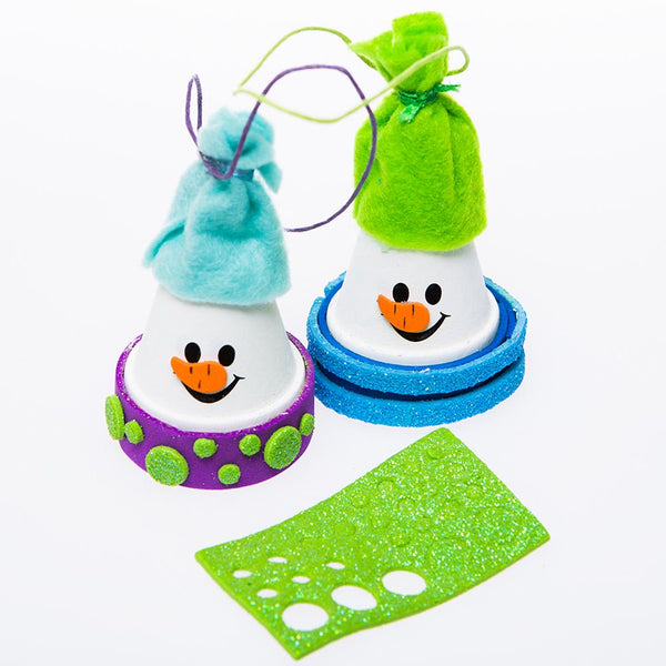Flower Pot Snowman Craft Kits