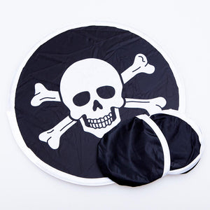 Pirate Flying Discs W/ Pouch
